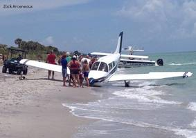 Plane Crash Lands on Florida Beach, Killing Father and Injuring 9-Year-Old Girl