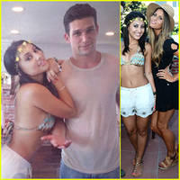 francia raisa & daren kagasoff have a 'secret life' reunion for her birthday!