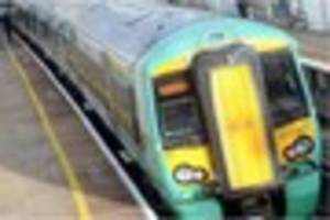 Flash flooding at East Grinstead train station causes delays