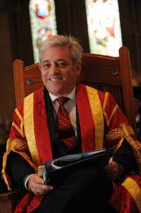 Speaker of the House of Commons John Bercow announced as Chancellor of University of Bedfordshire