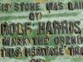 another harris plaque vanishes
