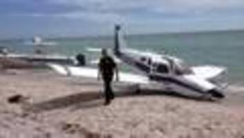 Small plane crash on Fla. beach kills man, daughter walking on shore